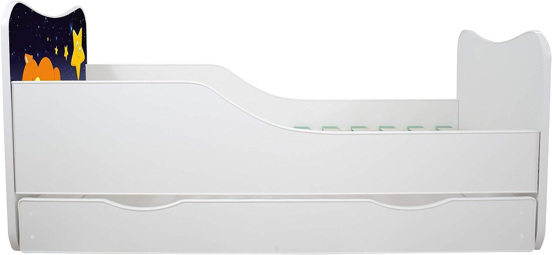 TIROIR Topbeds Lit Enfant B/éb/é 160x80 Designs DE Nombreux Neuf h/élicopt/ère Matelas