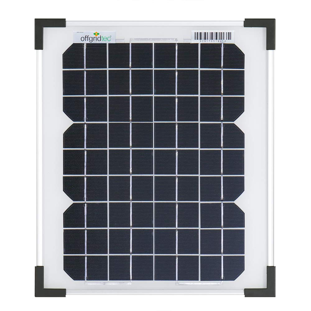 Offgridtec 20 W 36 V solar module monocrystalline ideal for 12 V and 24 V battery charging