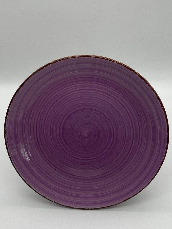 6er Set Teller 27 cm Riyashop Kombiservice Geschirrset Tafelservice Kaffeeservice Porzellan Geschirr Uni