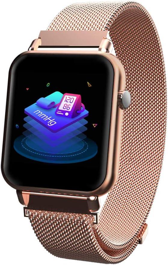 iCoverCase Reloj Inteligente Bluetooth Smartwatch Hombres Mujeres ...