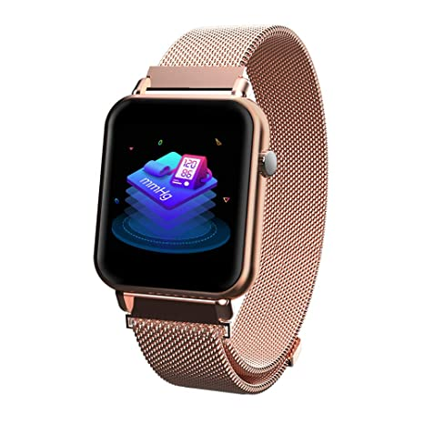 iCoverCase Reloj Inteligente Bluetooth Smartwatch Hombres Mujeres IP67 Impermeable Outdoor Deportes Fitness Tracker con Pulsómetro,