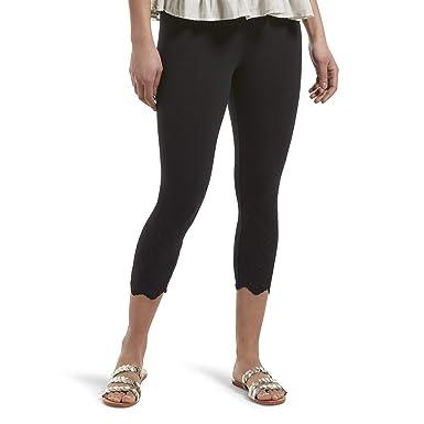 410a0d55b21b HUE Women s Fashion Cotton Capri Leggings