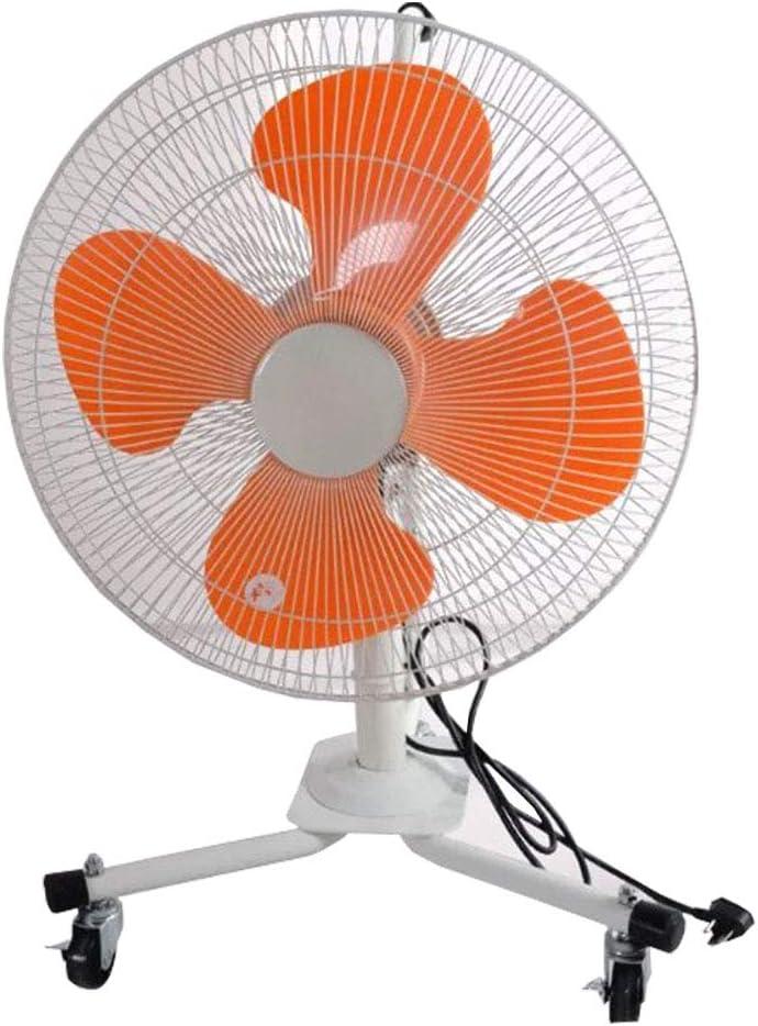 Ventiladores Industriales Ventilador de oscilación Refrigeración del Piso Portátil Silencioso / 4 aspas del Rotor Soporte de Pedestal Trípode Ventilador, 3 configuraciones de Velocidad, Rueda univer: Amazon.es: Hogar