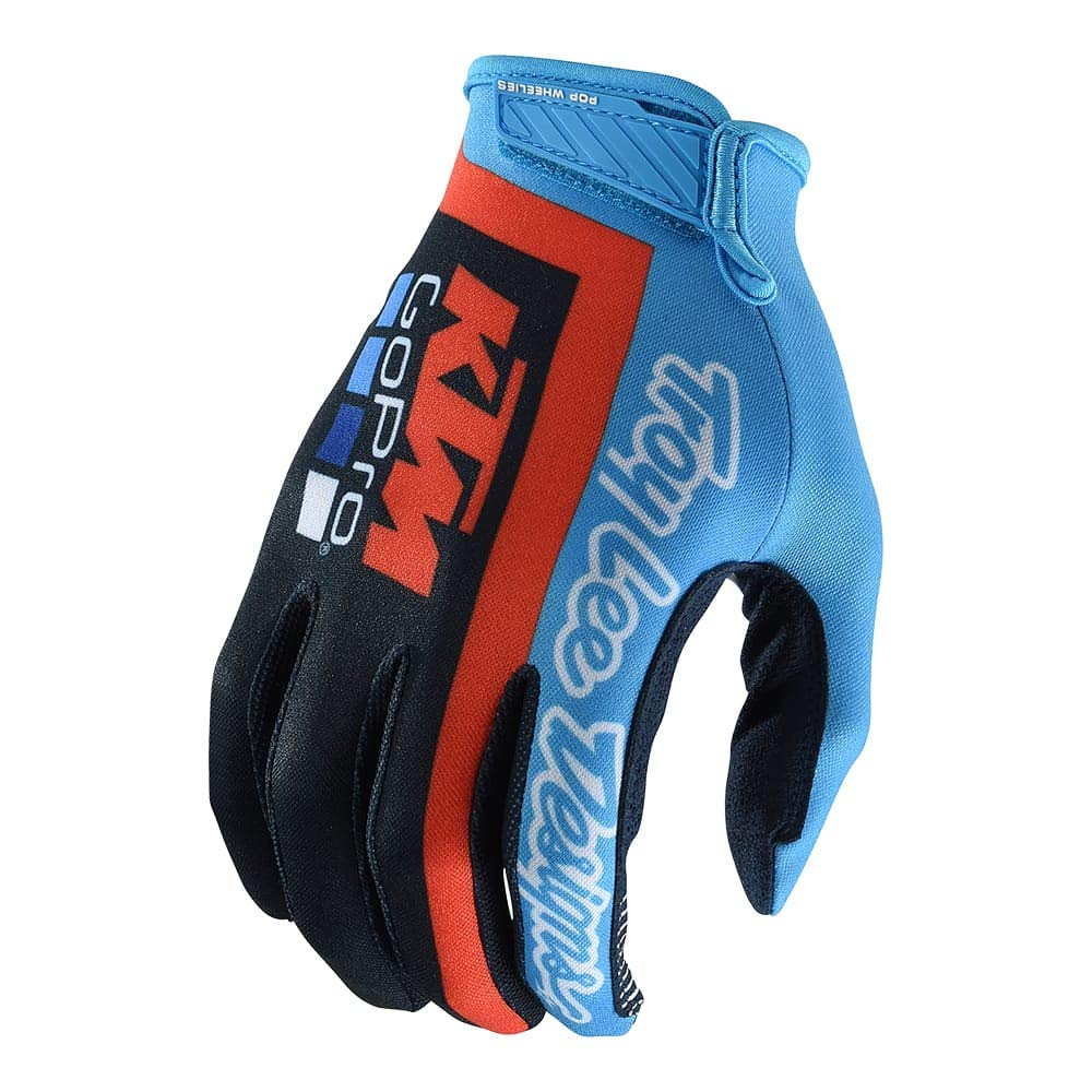 Motocross Offroad Troy Lee Designs Mens Team KTM Air Glove Large, Navy//Cyan