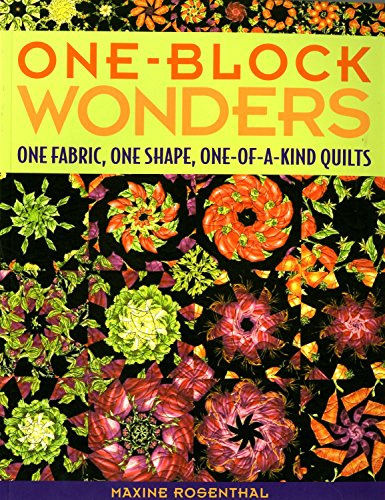 (C&T PUBLISHING One Block Wonders Quilt Book by Maxine Rosenthal)