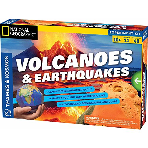 Thames & Kosmos Volcanoes & Earthquakes Science Experiment Kit