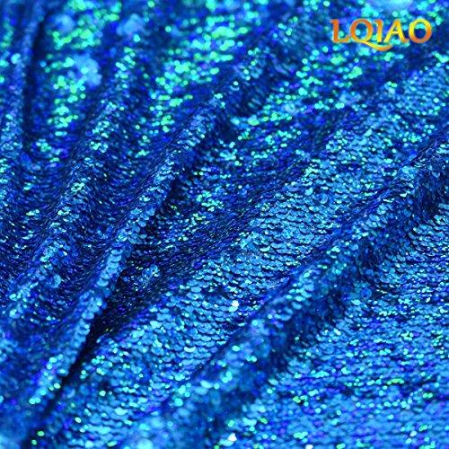 Fai Da Paillettes Ricamato Tessuto Cucito Lqiao Te Laser Paillettes Tessuto 2018 Di Da Vendita Blu Sirena Di Caldo Per Abiti Reversibili Sposa nvZHwqPz