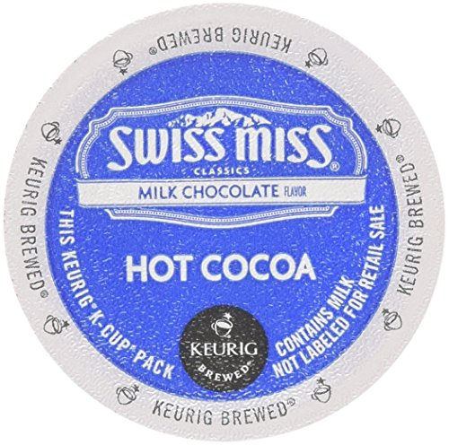 Green Hot Chocolate - Swiss Miss Hot Cocoa K-Cups 24-count 0.52Oz (14.9g)2 Pack