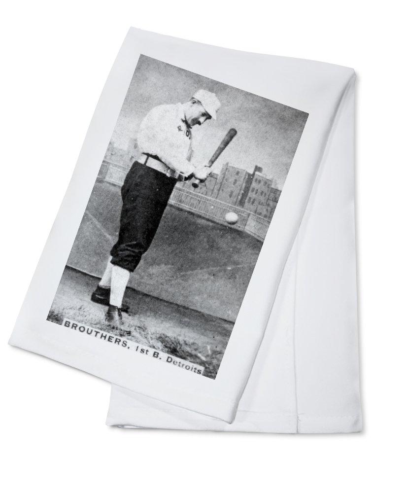 デトロイトWolverines – ダンブローザース – 野球カード Cotton Towel LANT-22433-TL Cotton Towel  B0184BQSV6