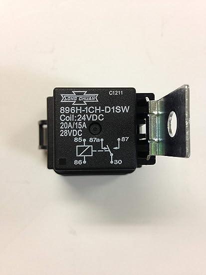 4x Song Chuan 896H-1CH-S1-R1-T-12VDC Automotive Relays SPNO 50A 12VDC