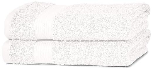 173 opinioni per AmazonBasics- Set di 2 asciugamani per le mani che non sbiadiscono, colore