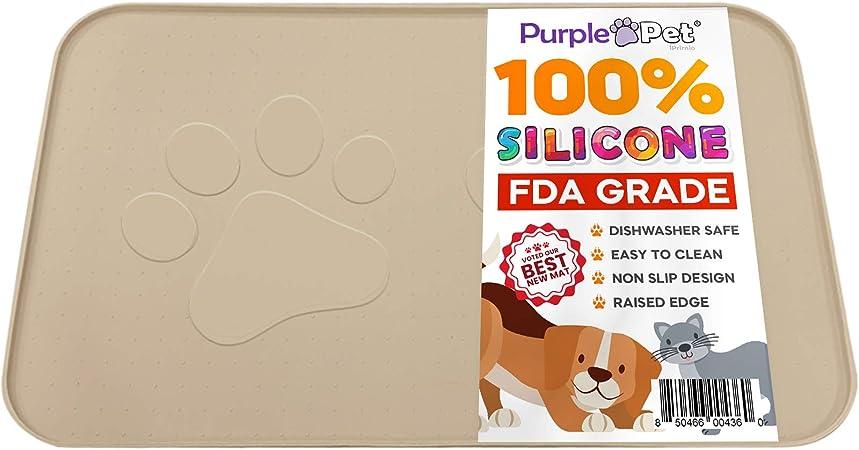 iPrimio Extra Large Pet Feeding Bowl Mat with Logo | Amazon