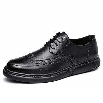 cd96ce3f14a259 DHFUD Frühling Geschnitzt Herrenschuhe Fashion British Casual Schuhe ...