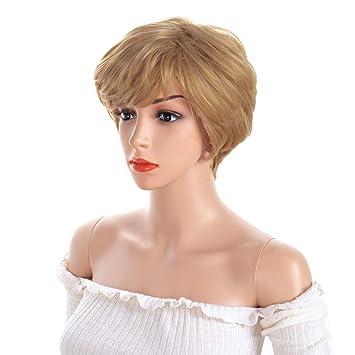 BeiSD Short Blonde Wigs For Black Women Blonde