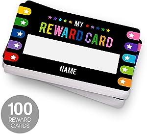 Classroom Reward Card / 100 Behavior Reward Cards for Teachers Students