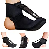 Copper Compression Plantar Fasciitis Night Splint Sock. Planter Fasciitis Support Dorsal Drop Foot Brace for Right or Left Fo