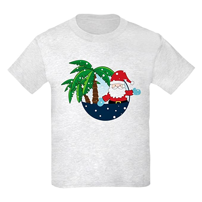 fa69c8a0 Image Unavailable. Image not available for. Color: CafePress - Christmas In  Paradise Kids Light T-Shirt ...