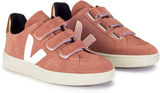 como resultado novedad tengo sueño  Veja V12 Rosa - Deportivas Mujer - Rosa, 41: Amazon.es: Zapatos y  complementos