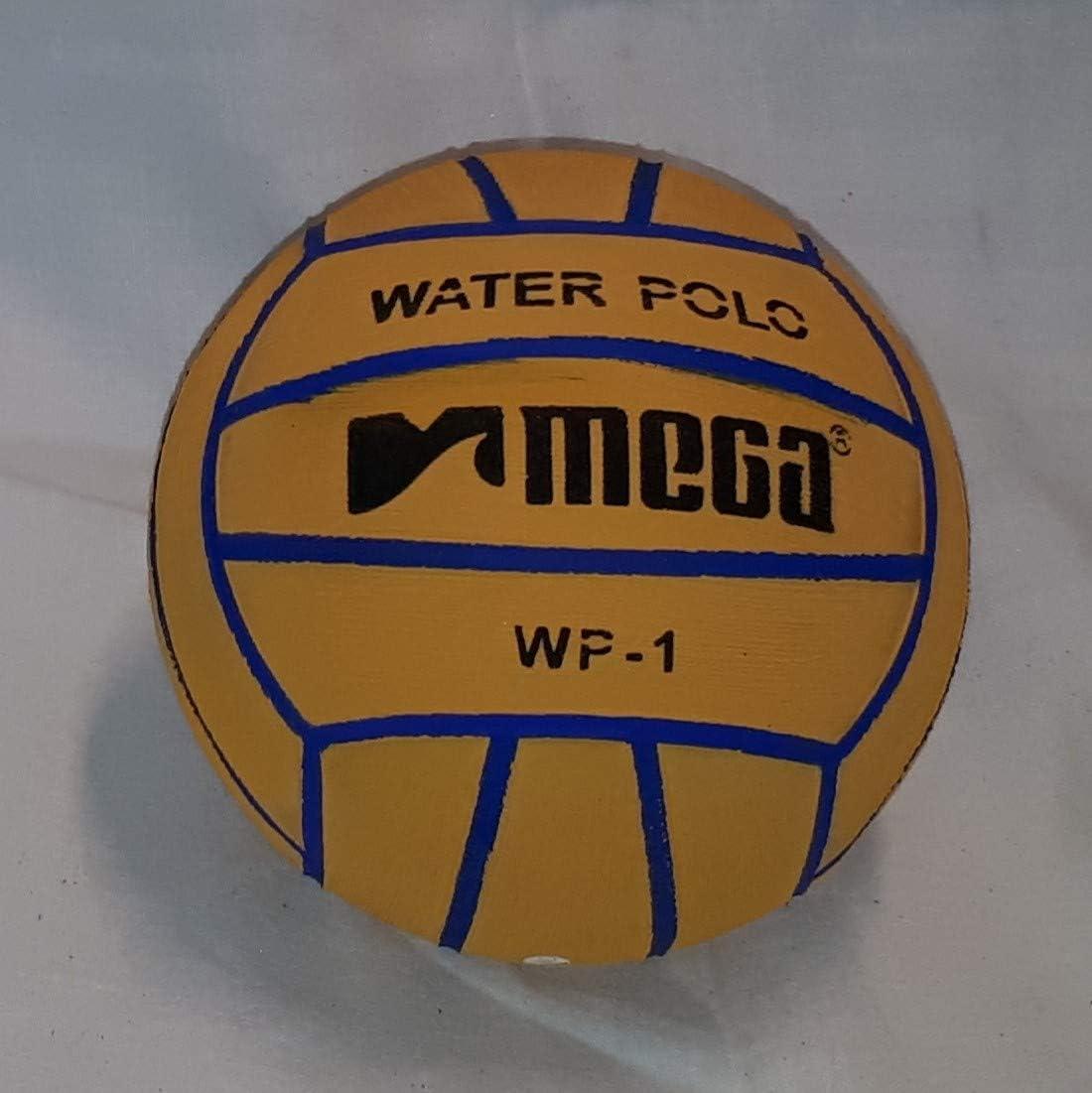 Mega Water Polo - Balón de Waterpolo (Talla 1), Color Amarillo ...