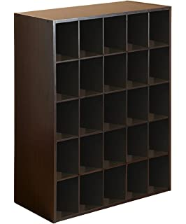25 Cube Organizer, Espresso