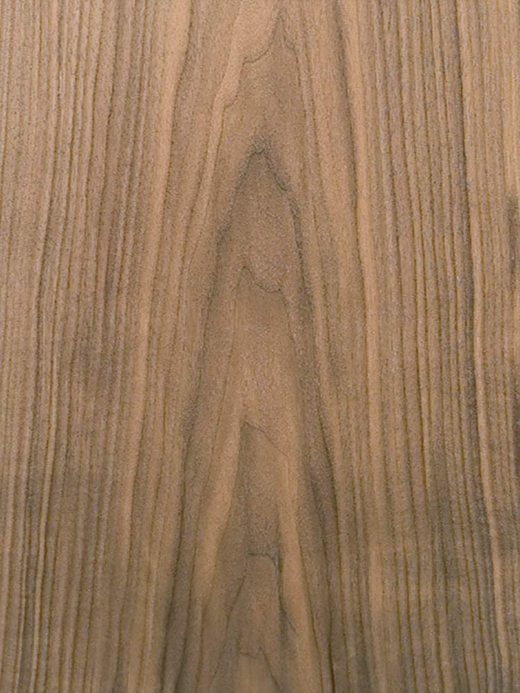 Wood Veneer, Walnut, Flat Cut, 4 x 8, 10 mil Paper Backer by Veneer Tech