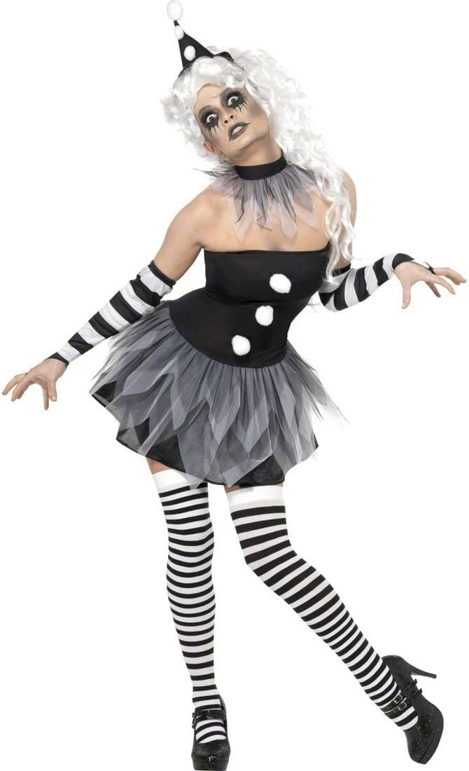 NET TOYS Disfraz de Payaso para Mujer Disfraz Halloween Vestuario ...