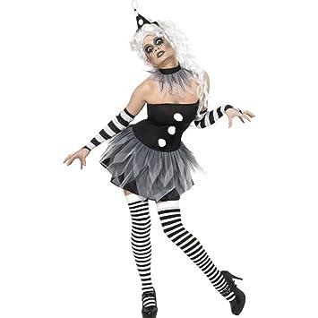 NET TOYS Disfraz de Payaso para Mujer Disfraz Halloween ...