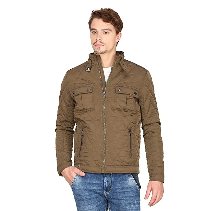 21bc95538d8 Mufti Brown Color Jacket  Amazon.in  Clothing   Accessories