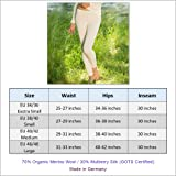 Thermal Underwear Leggings for Women - Merino Wool