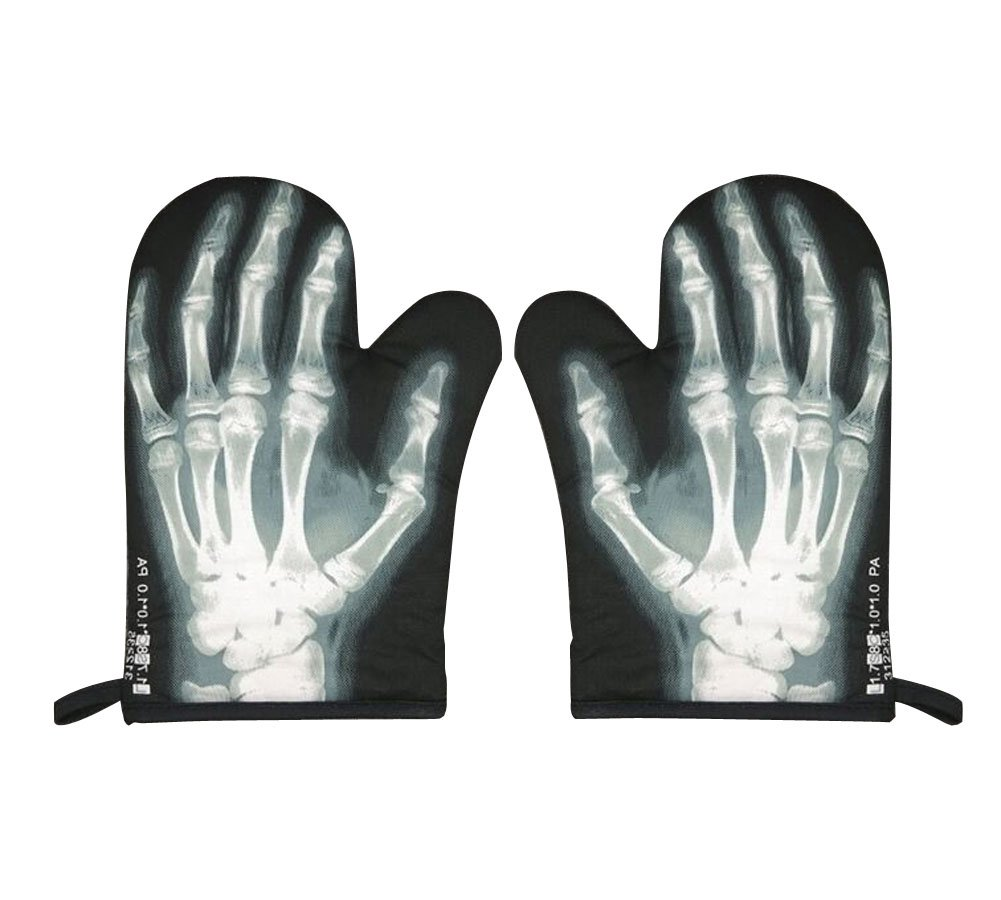 High Quality Heat insulation gloves/Oven Mitts, X-Ray Perspective (Pair) PANDA SUPERSTORE COMINHKPR68375