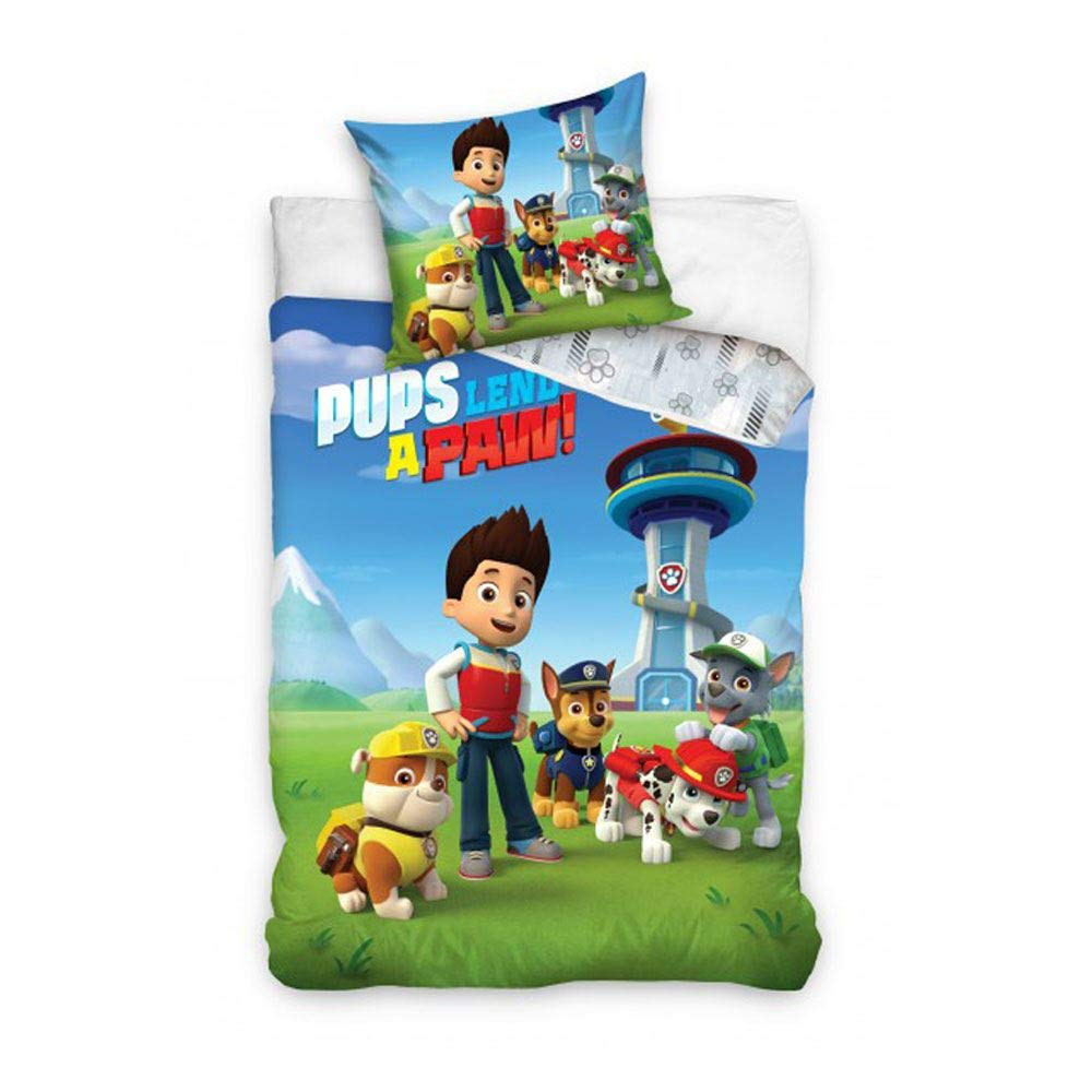 70x90 Paw Patrol Bettwasche 140x200 100 Baumwolle Kinderzimmer Kinder Junge Dream Bettbezug Kinderbettausstattung Heimtextilien Bad Bettwaren