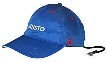 Musto Fast Dry Crew Cap in Surf Blue AL1390 Colour - Surf Blue