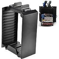 Soporte de almacenamiento para PS4, soporte de consola vertical Bewinner para PS4 Storage Tower Fan Game Disk Rack…