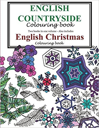 English Countryside And Christmas Colouring Book FH Cockwill 9781781489499 Amazon Books