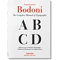 Giambattista Bodoni. Manual of Typography: BU (Bibliotheca Universalis)