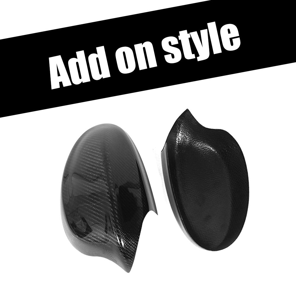 Carbon Fiber Side Rear view Mirror Covers Caps for BMW 3 Series E90 Sedan 318i 320i 325i 328i 330i 335i xDrive 05-08 Not M3 xiangfa