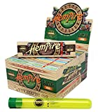 Hempire King Size Rolling Papers (50 Packs/Full Box) with Rolling Paper Depot Doob Tube