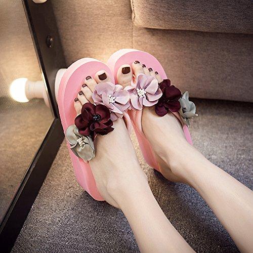 balneario playa de zapatillas FLYRCX de fondo damas de antideslizante moda verano piscina b SHOES zapatos plano xII04qAw8