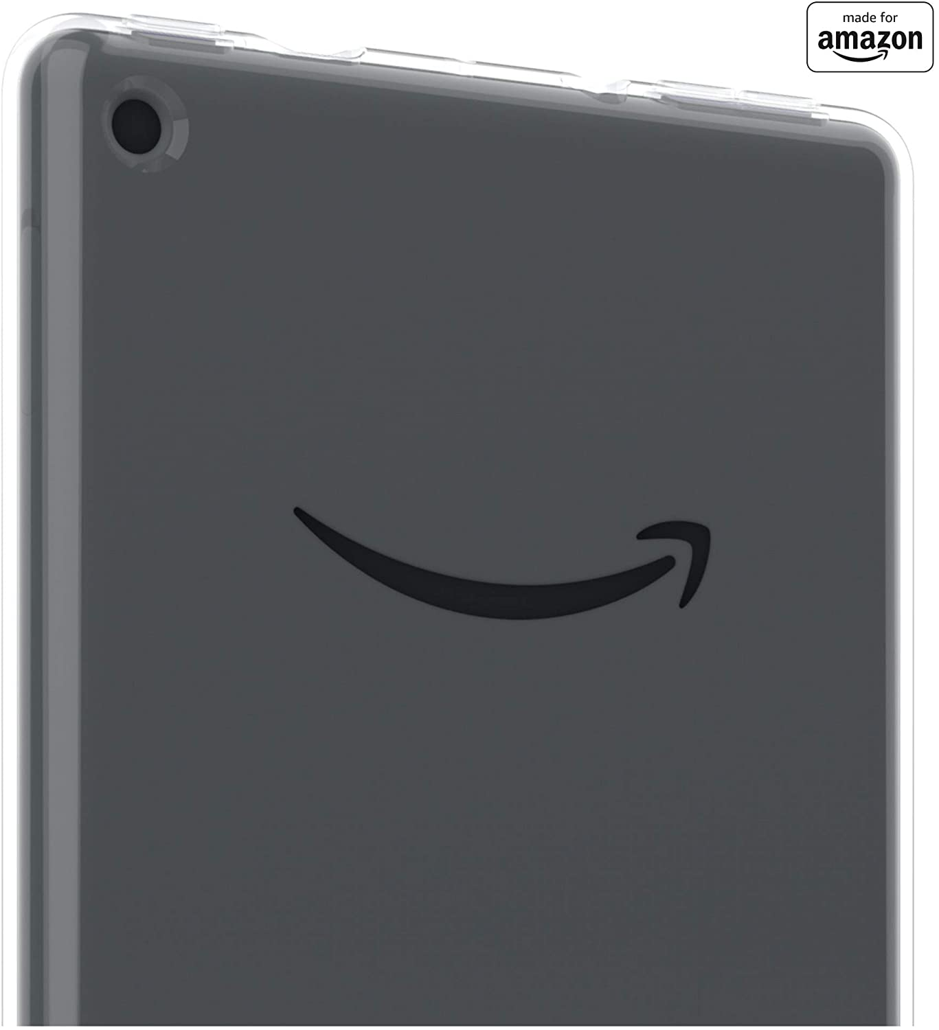 All New, Made For Amazon Clear Case with Screen Protector for Fire 7 Tablet (9th Generation, 2019 Release and 7th Generation, 2017 Release)