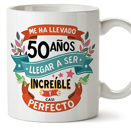 MUGFFINS Taza 50 Cumpleaños -
