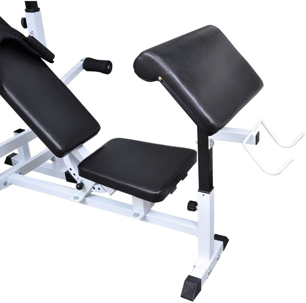 Weight Multi Bench Sporting Goods Exercise /& Fitness Weightlifting Weightlifting Machines /& Racks