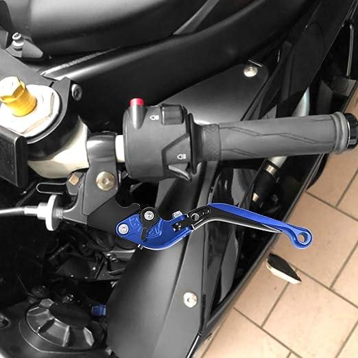 Bremshebel Klappbar Kupplungshebel Skalierbar Cnc Motorrad Hebel Für F800gs Adventure 2008 2018 F650gs 2008 2012 F800gt 2013 2018 F800r 2009 2018 Blau Schwarz Auto