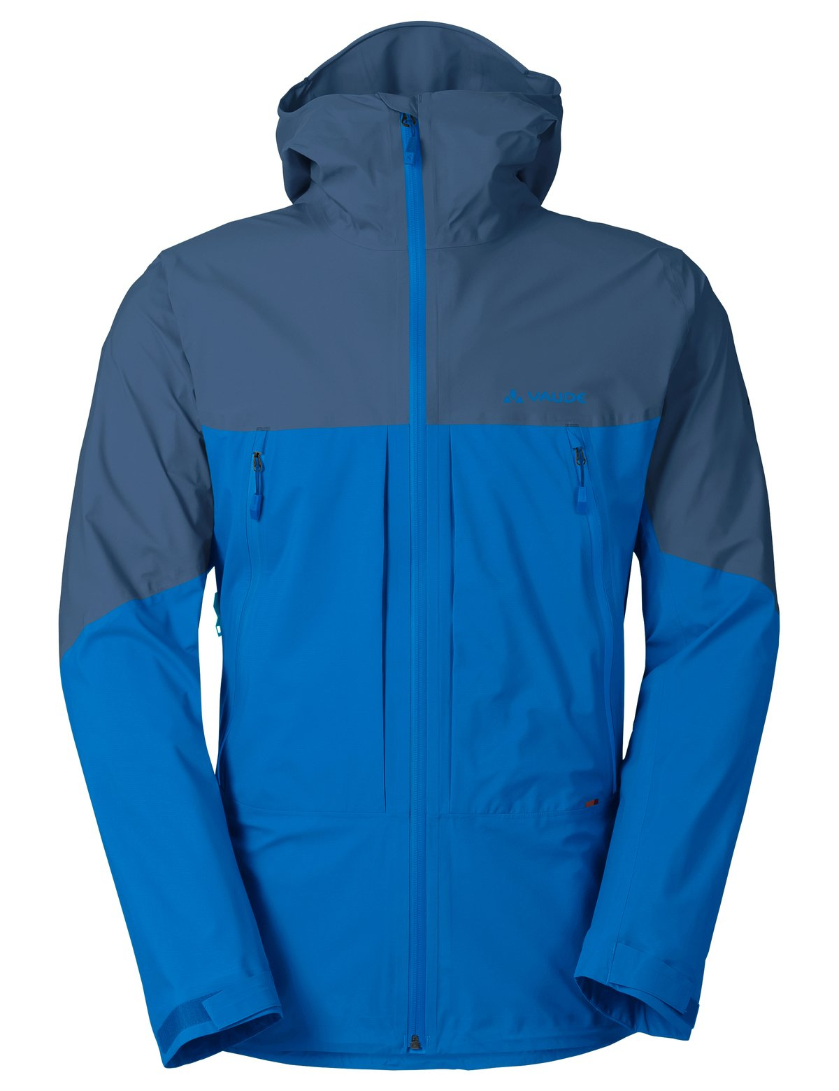 VAUDE Men's Croz 3L Jacket, Radiate Blue, Medium