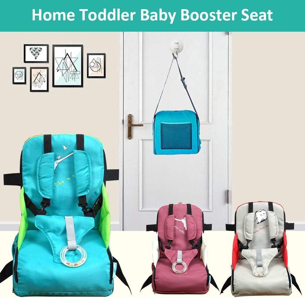 Tragbarer klappbarer Esszimmerstuhl f/ür Kinder Baby-Esstisch Kleiner Stuhl Baby-Esstisch Hocker Travel Booster Sitzrucksack Wickeltasche f/ür Kleinkinder zu Hause Baby