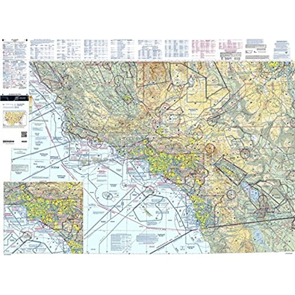 Amazon Com Faa Chart Vfr Sectional Los Angeles Sla Current Edition Gps Navigation