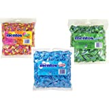 Mentos Assorted Flavour 600 Count Bulk Variety Pack Bundle - Mint Spearmint Fruit 3 Flavour Bundle.1.720kg – Individual Packs – Home – Office -Candy Buffet - Party Favor Bags – Boxes Sweets