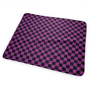 Amazon.com: BLACK SP Checkered Squares Changing Pad ...