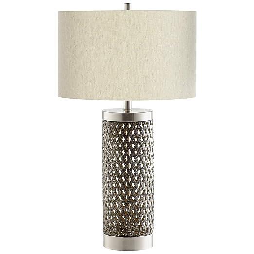 Amazon.com: Fiore - Lámpara de mesa (acabado en níquel ...