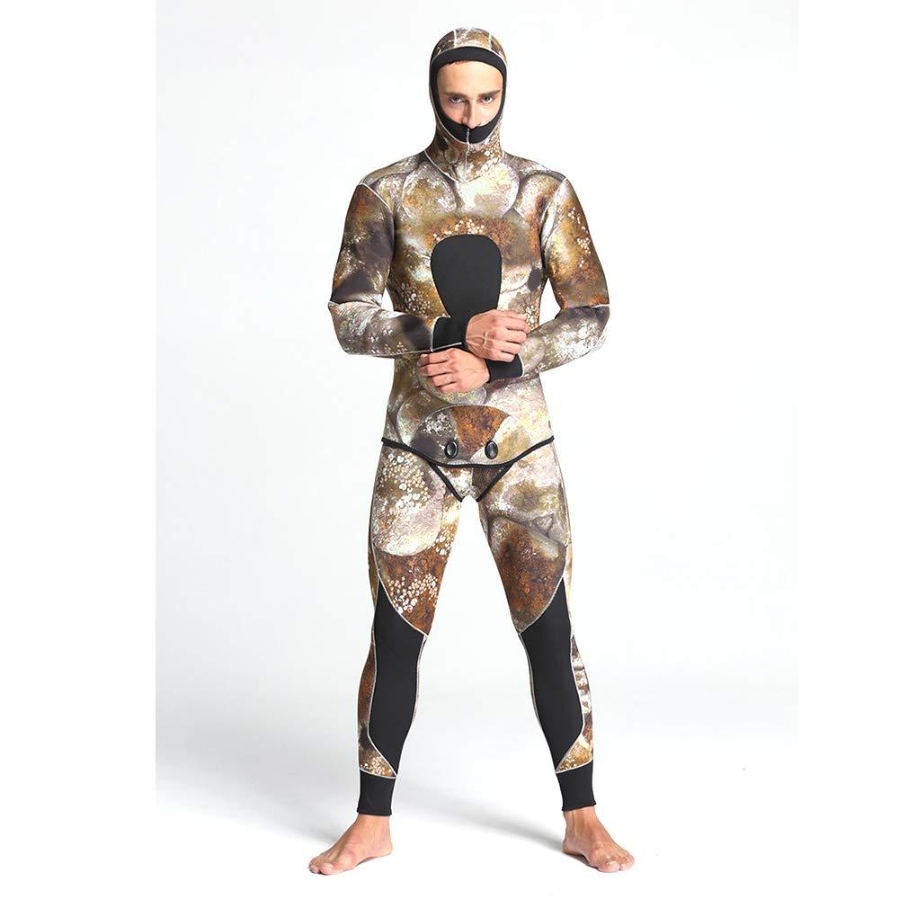 ZUKN Trajes de Neopreno para Hombre, 5 mm Premium Camuflaje ...
