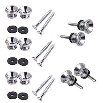 Amazon Com Pakala66 Metal Strap Lock Buttons End Pins With Mounting